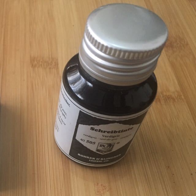 Rohrer & Klingner Verdigris (Fountain Pen Ink 50 ml)