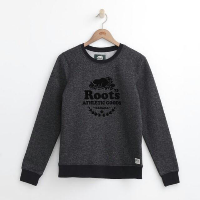 Roots 全新正品 圓領長袖T恤專櫃售價2580