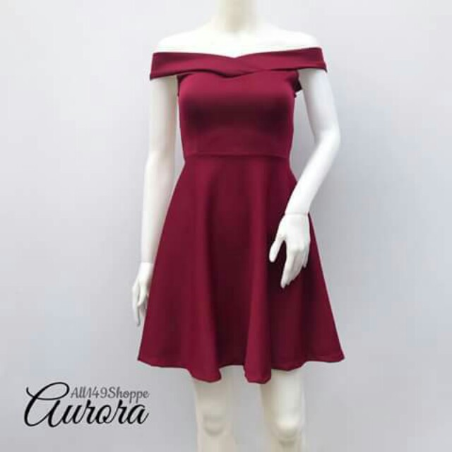 RUSH!!! LOOKING FOR THIS OFF SHOULDER DRESS