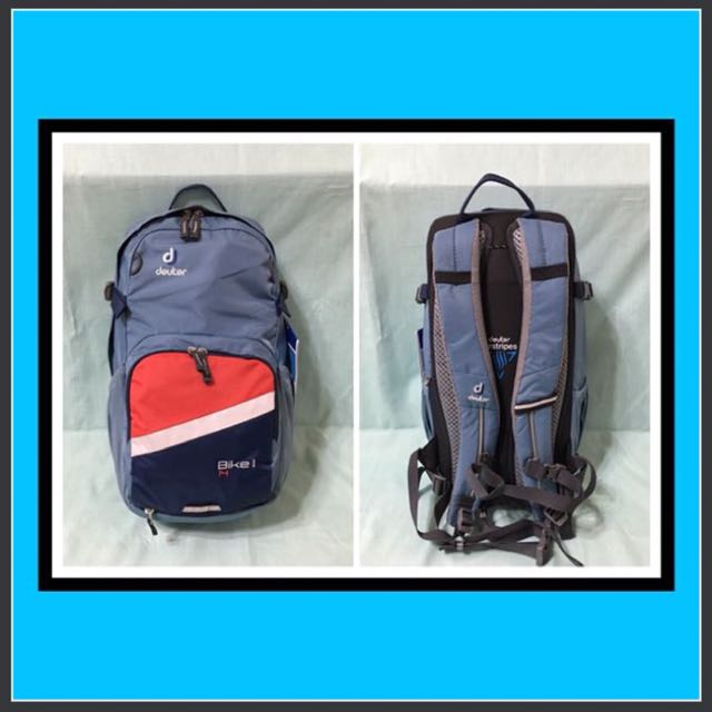 new concept high fashion clearance sale SALE!!! 🚲Bike Backpack🚲 Deuter BIKE I 14L - SLATEBLUE ...