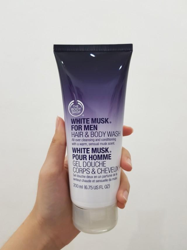 SALE!! ORIGINAL BODY SHOP WHITE MUSK FOR MAN (BUKAN BARANG REJECT)