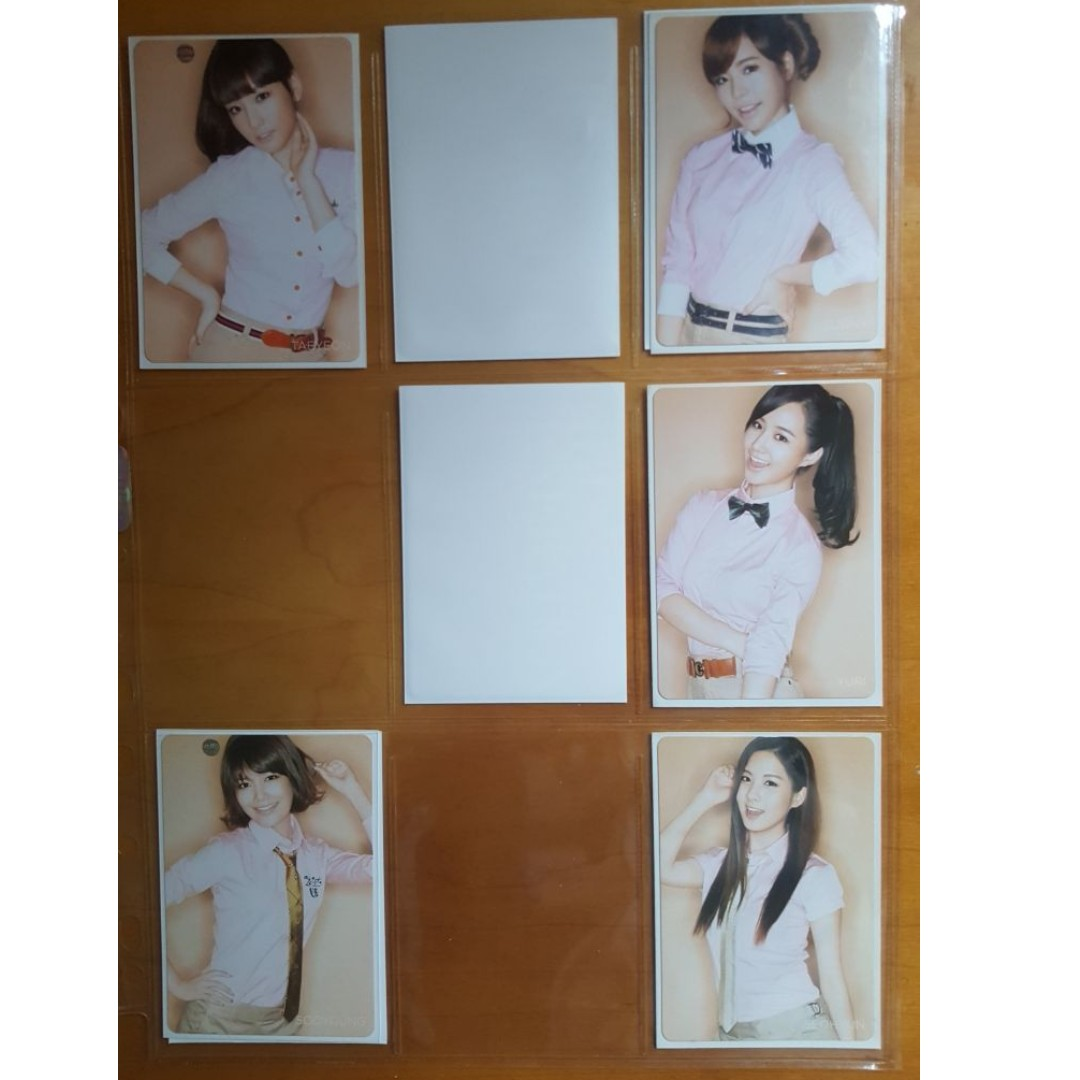Selling SNSD Girls Generation Gee (Japanese) Official Photocards