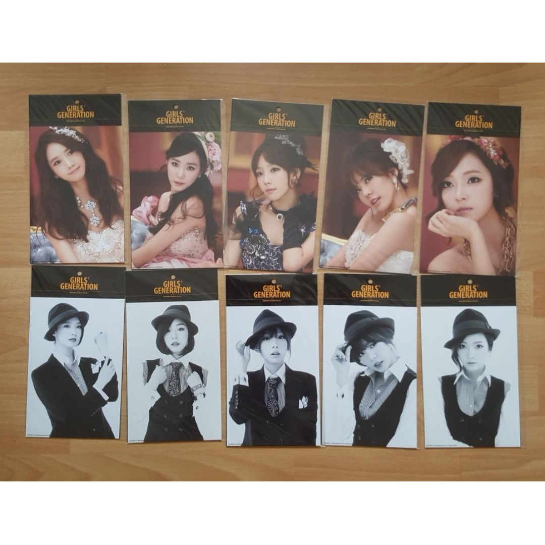 Selling SNSD Girls Generation Mr Mr Official Photocards