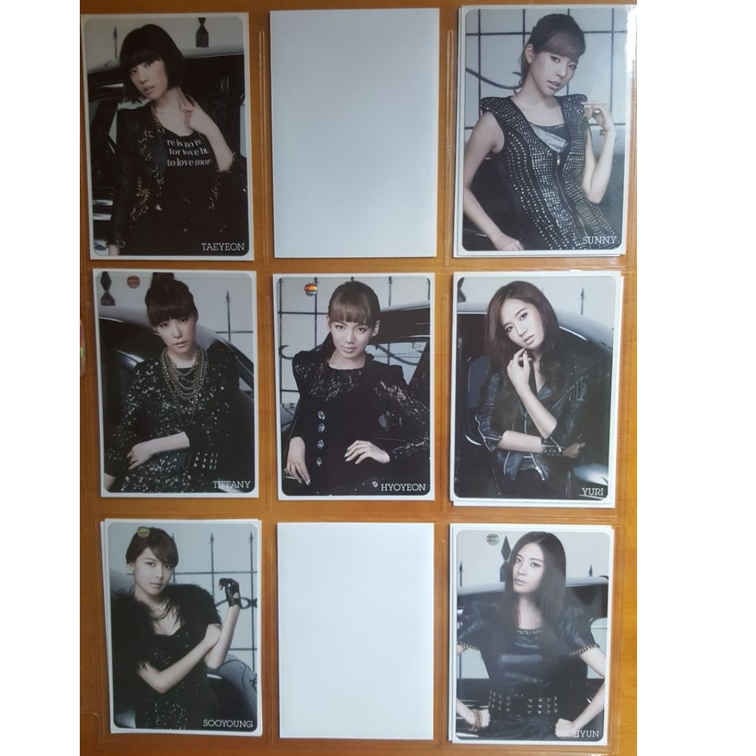 Selling SNSD Girls Generation Mr Taxi (Japanese) Official Photocards
