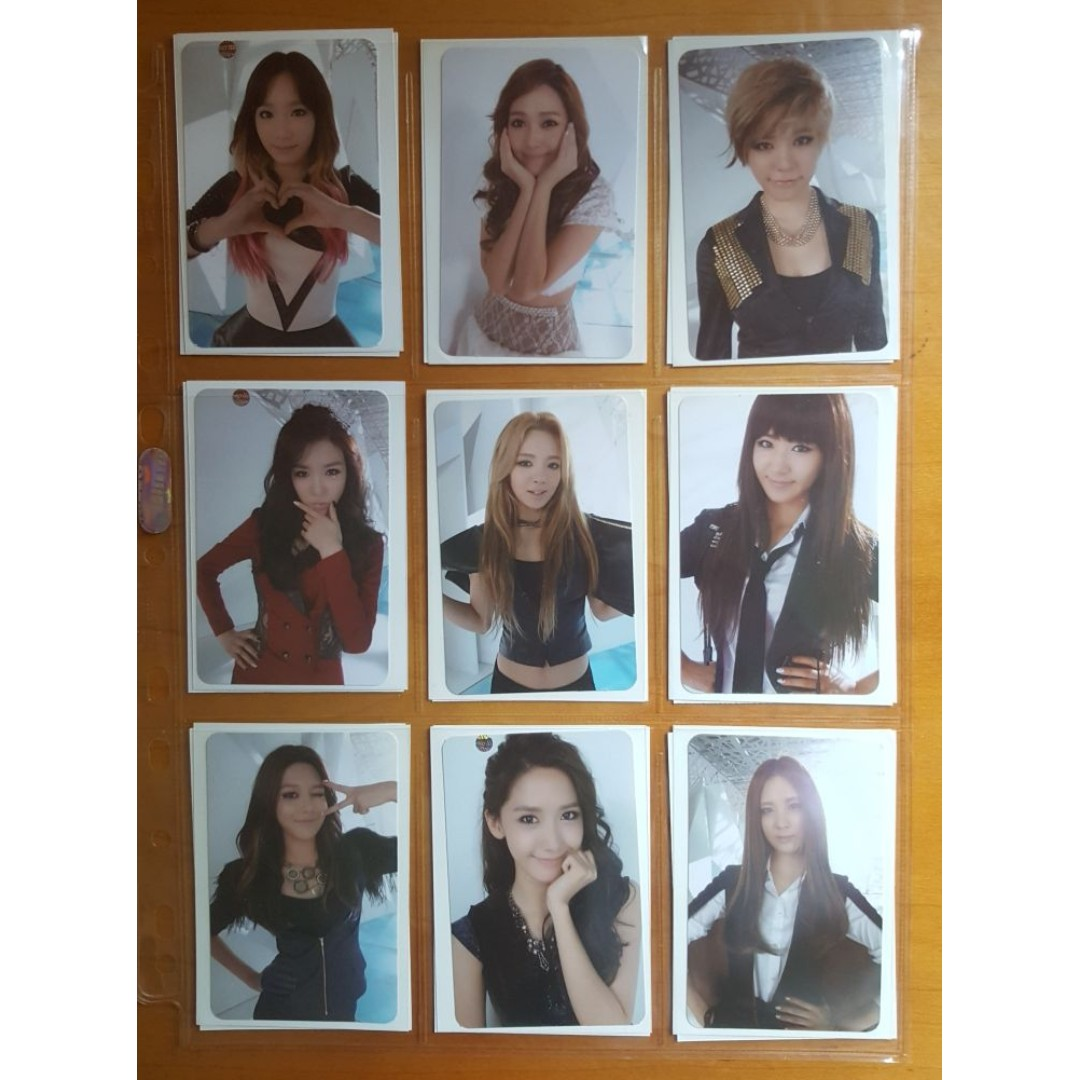 Selling SNSD Girls Generation The Boys Official Photocard