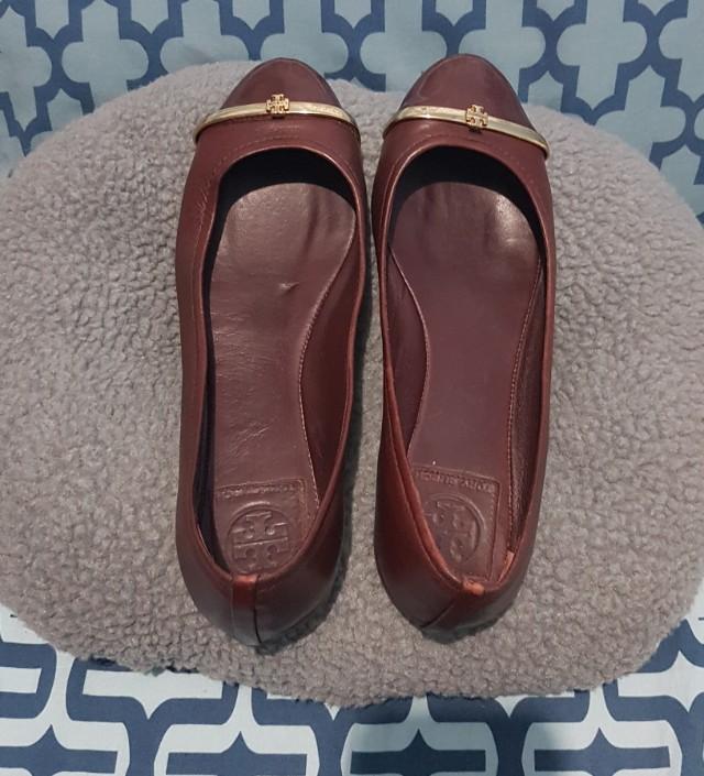 Preloved Sepatu Tory Burch (flatshoes) Authentic a79a9e8014