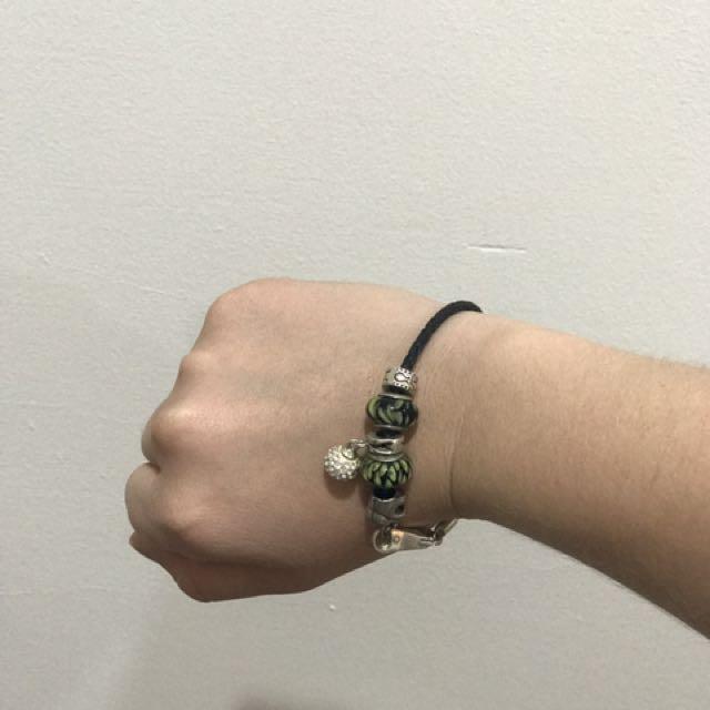SilveRado Bracelet And Beads/charms.
