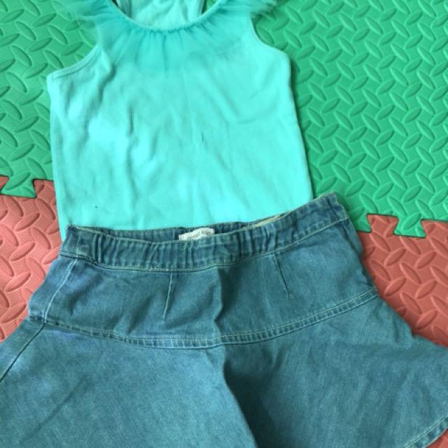 Skirt & tee bundle