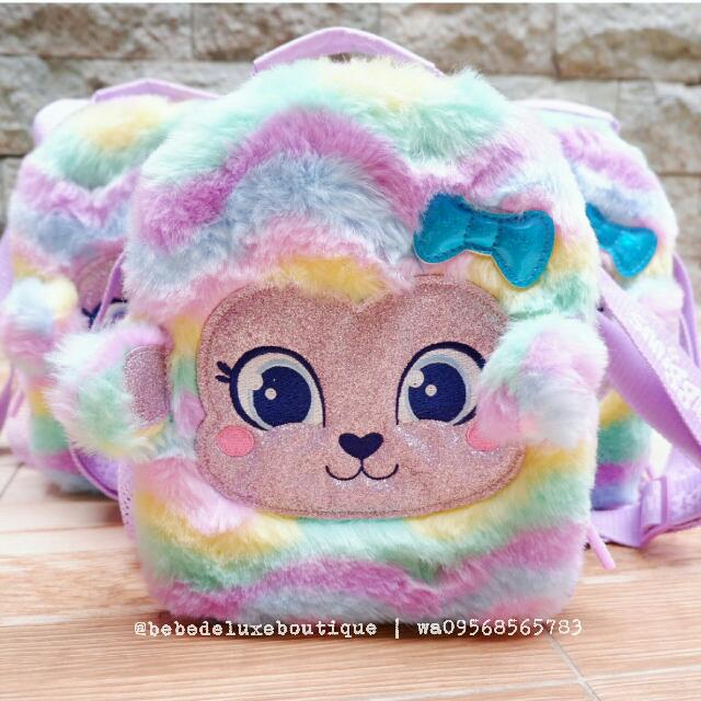 Smiggle Scented Fluffy Lunch Bag