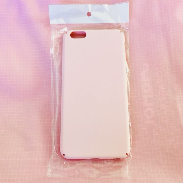 Soft pink smooth texture iPhone 6/S PLUS phone case