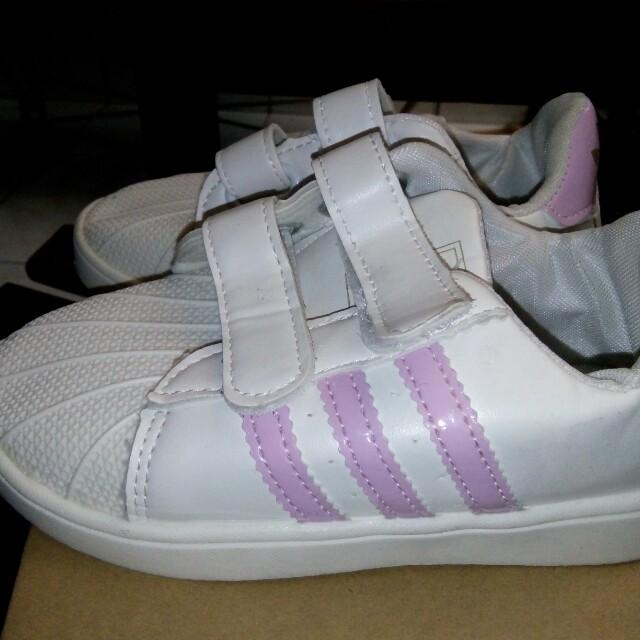 Spatu Anak (adidas stripe)