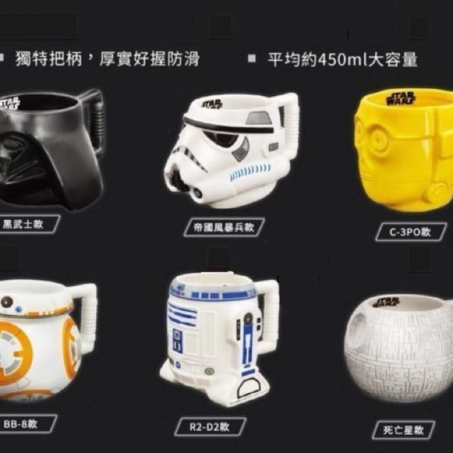 STAR WARS 3D立體馬克杯-C-3PO款