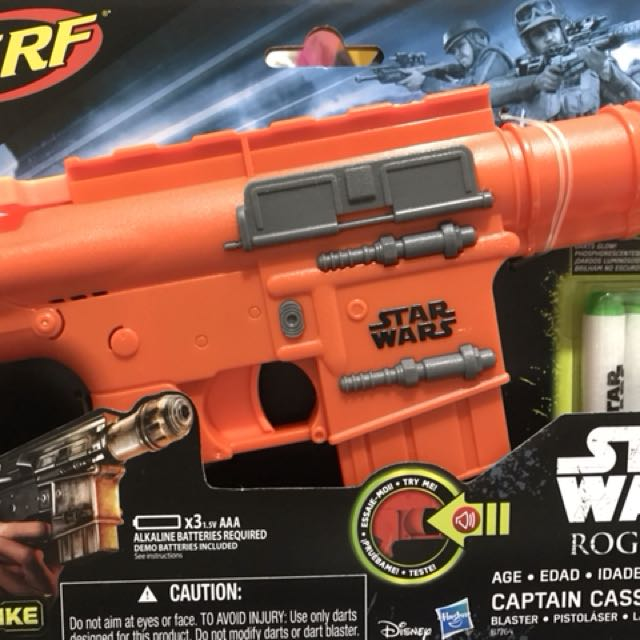 Star Wars Rogue One Captain Cassian Nerf Andor Gun ...