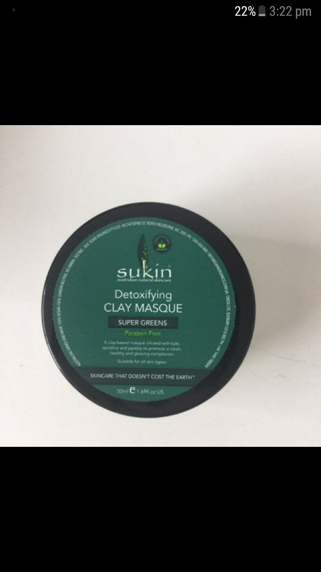 Sukin Detoxifying Clay Masque