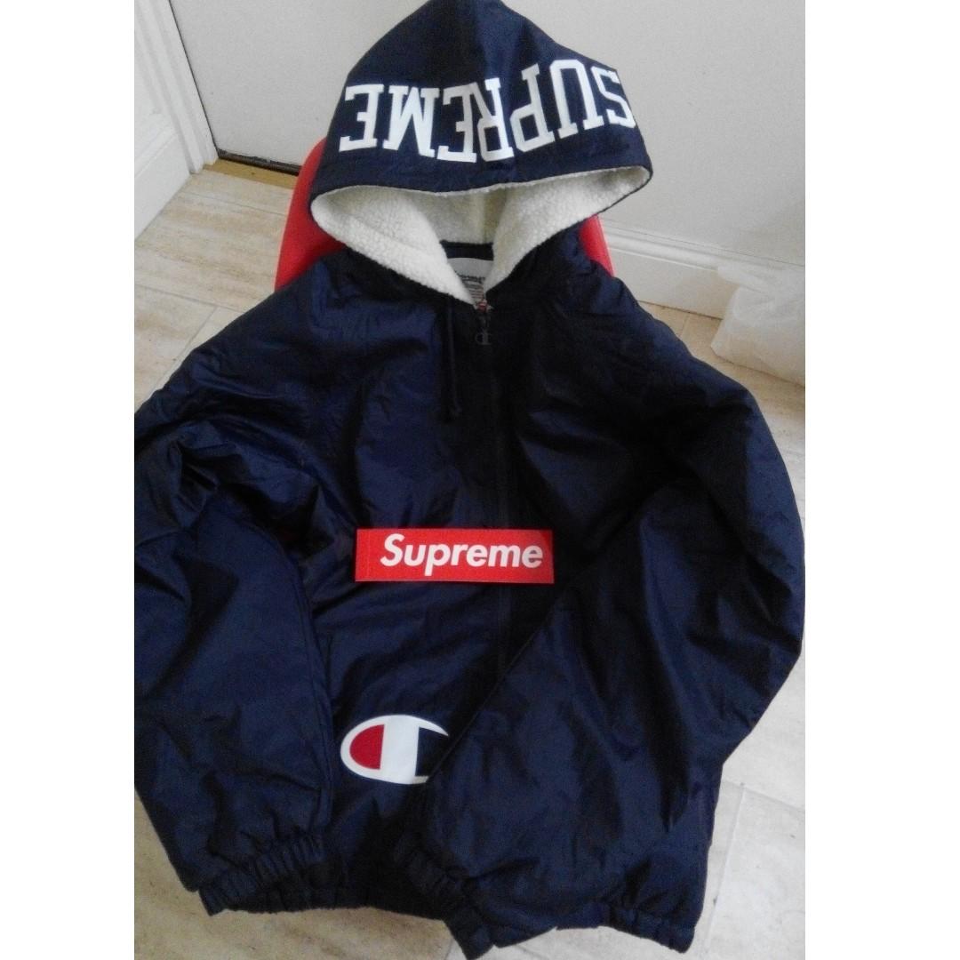 928b24949b5c Supreme® Champion® Sherpa Lined Hooded Jacket