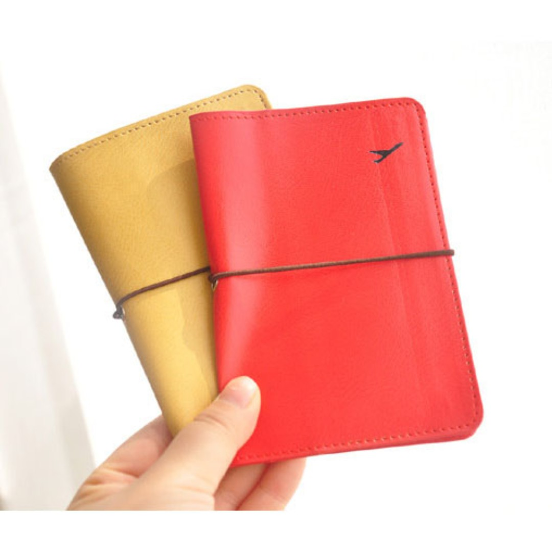 Synthetic Leather Travel Passport Holder Cover B12801