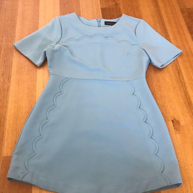 Topshop Blue Dinner dress