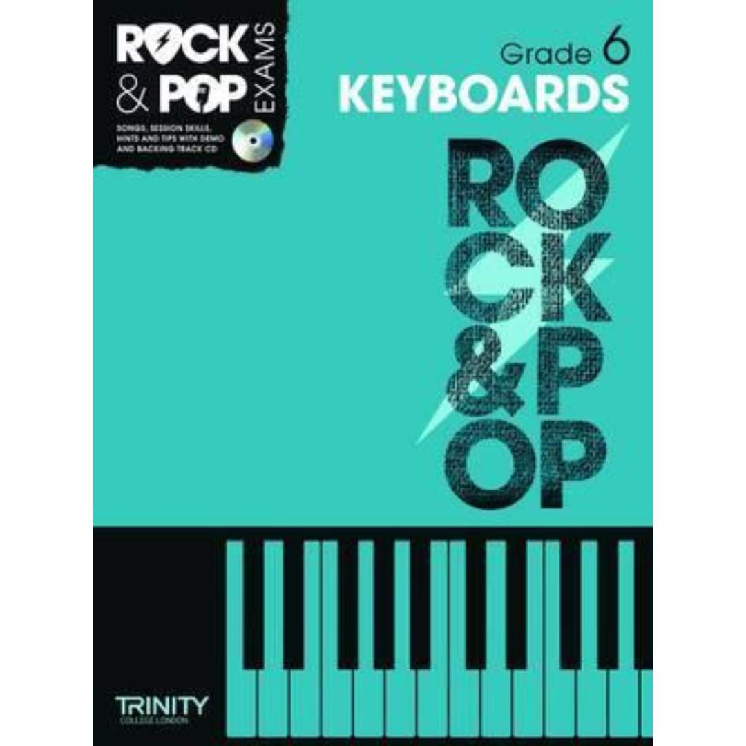 Trinity Rock & Pop Keyboards Grade 6 Handbook with CD (in stock)