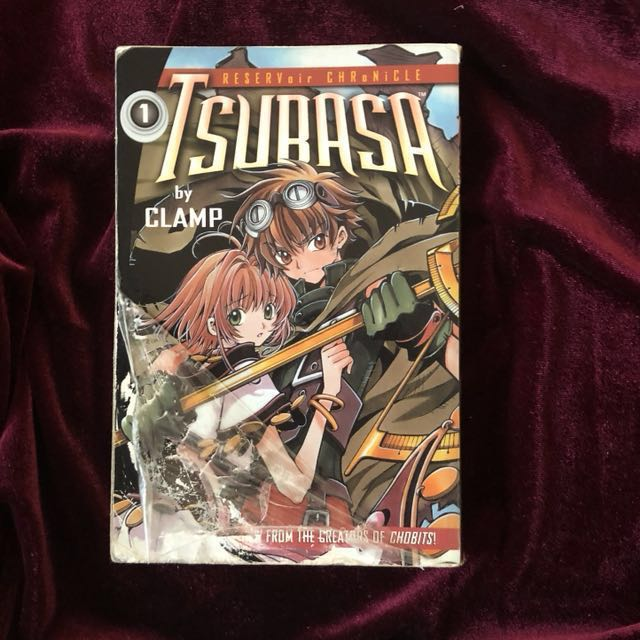 TSUBASA Volume 1,3,4 & 5