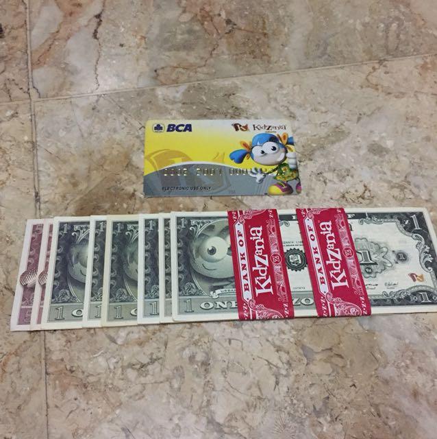 Uang dan Credit Card Kidzania