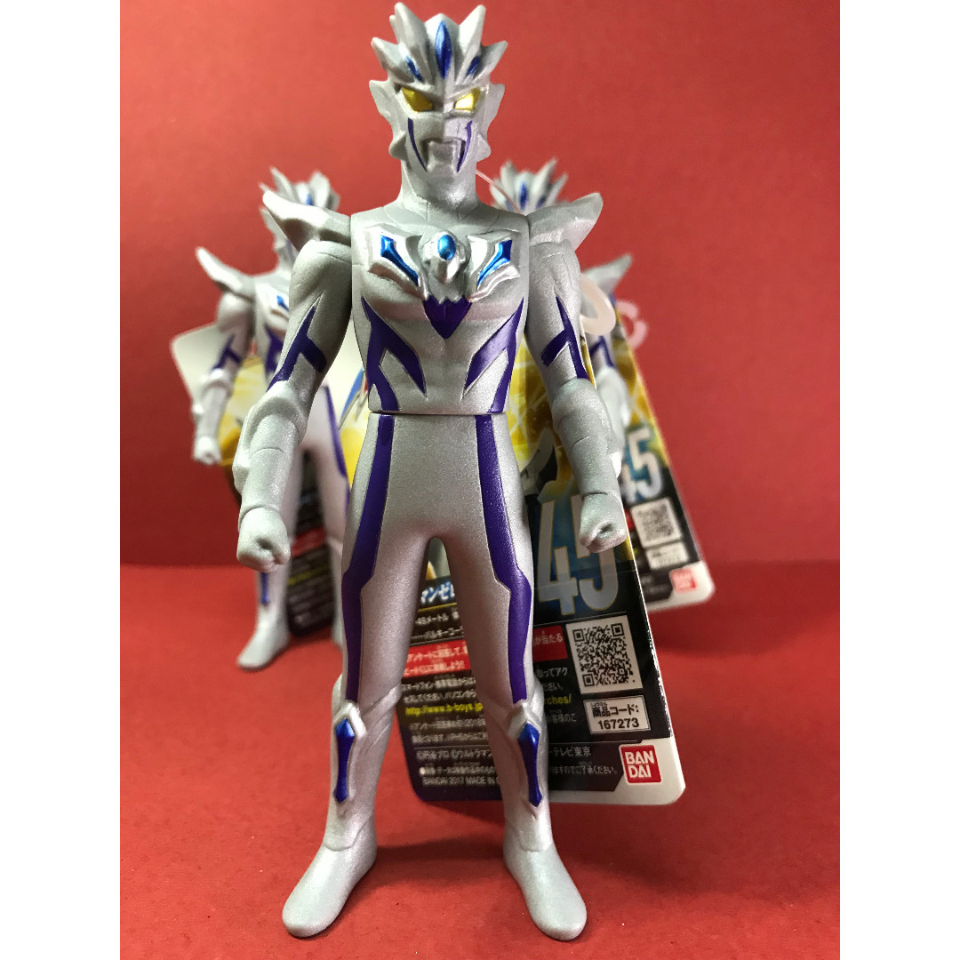 Ultraman Zero Beyond Ultraman Geed Ultra Hero 500 Series 45 Toys