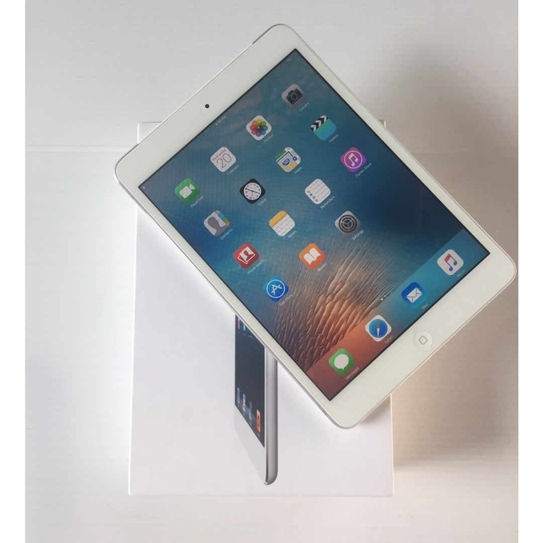 Used Ipad Mini 1 16gb Wifi Cellular White Like New Telefon Photo
