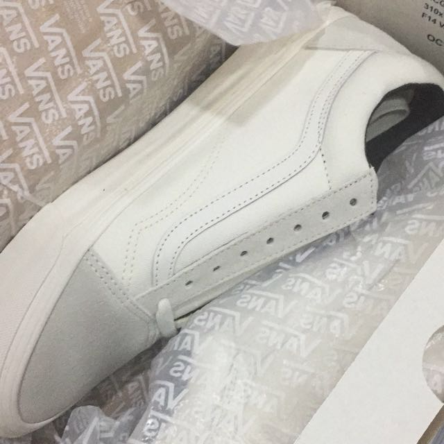 b276c65f24 Vans Vault OG Old Skool LX White Cream