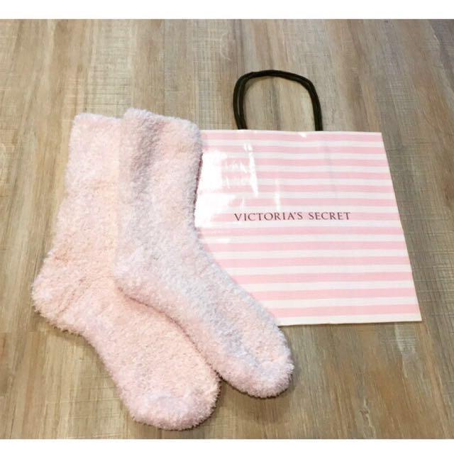 全新維多利亞的秘密保暖毛襪子Victoria's secret