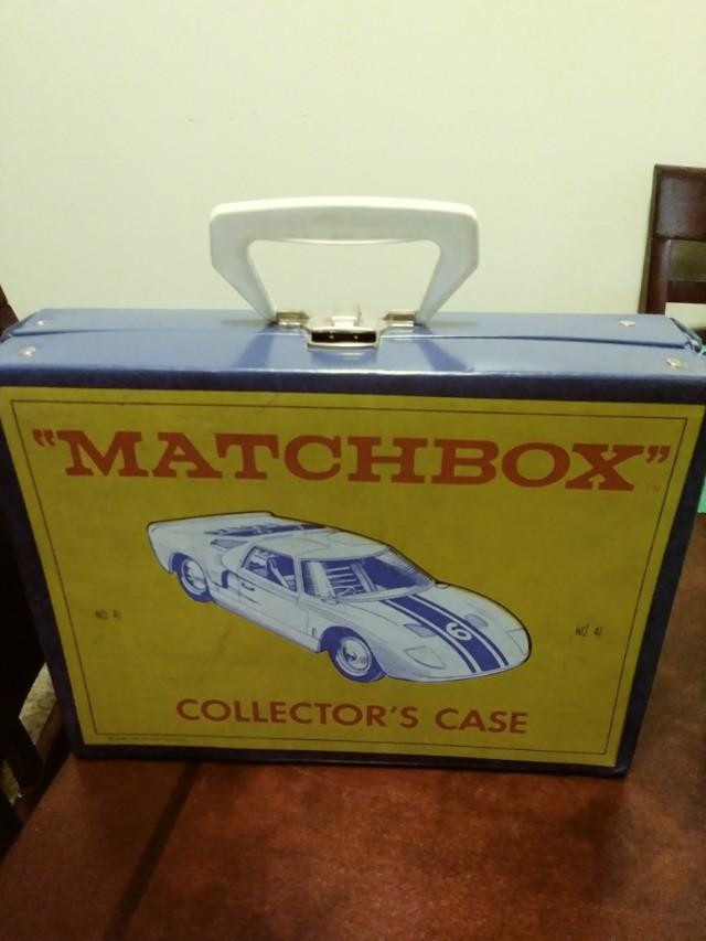 VINTAGE 1966 MATCHBOX LESNEY COLLECTORS CASE #41
