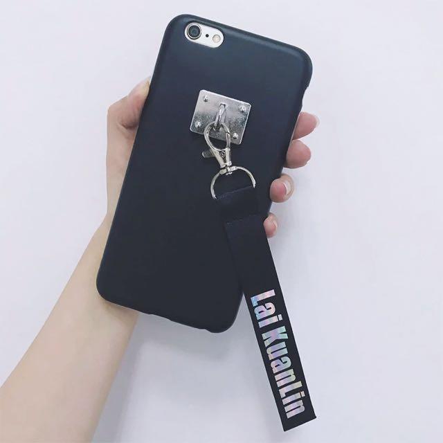 the best attitude 48bdb eb03d Wanna one custom made lanyard phone case