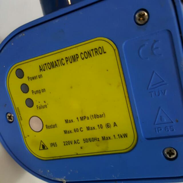 Water Pump Control Automatic