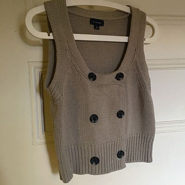 Witchery Knitted Vest - Size S