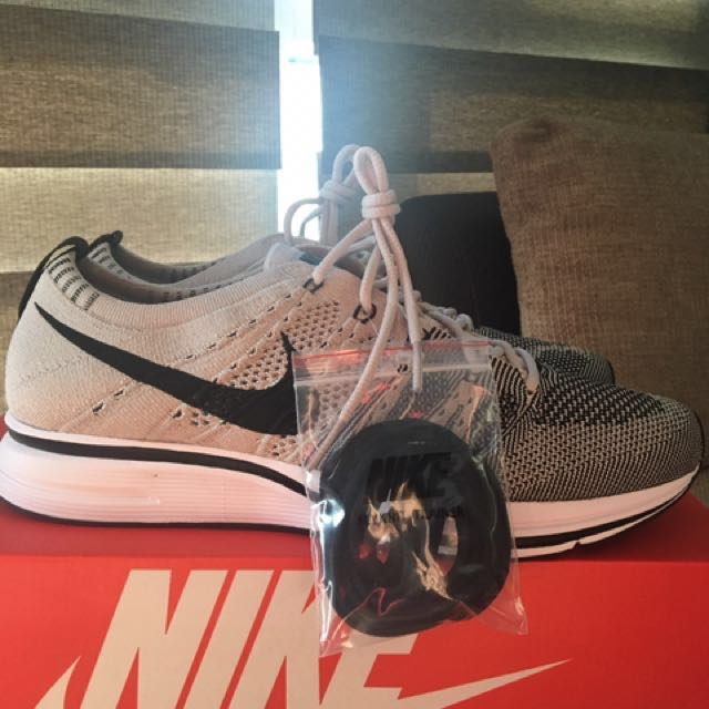 0c377f249f9d XMAS STEAL!!! Nike Flyknit Trainer Pale Grey US8.5