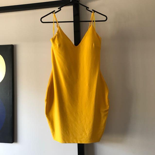 Yellow Mooloola dress