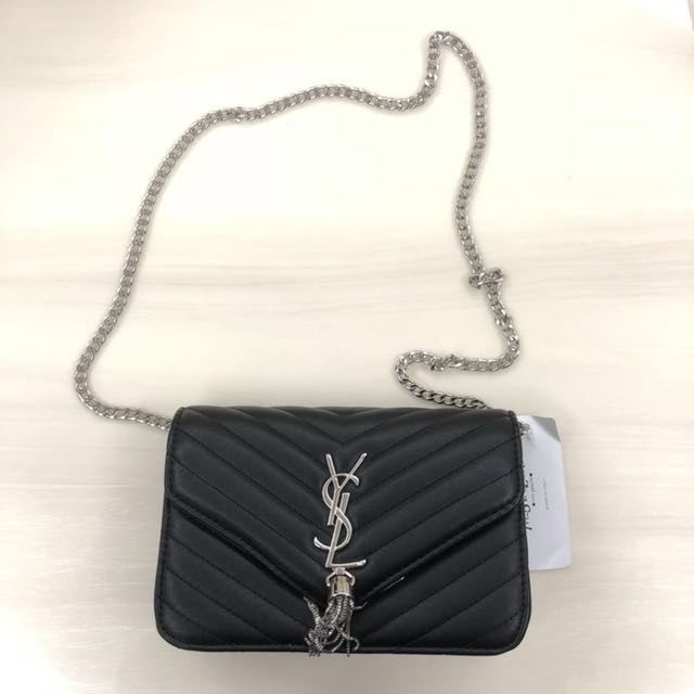YVES SAINT LAURENT (YSL) INSPIRED Chain Sling Bag Clutch
