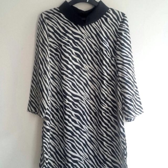 Zebra Soft Satin top