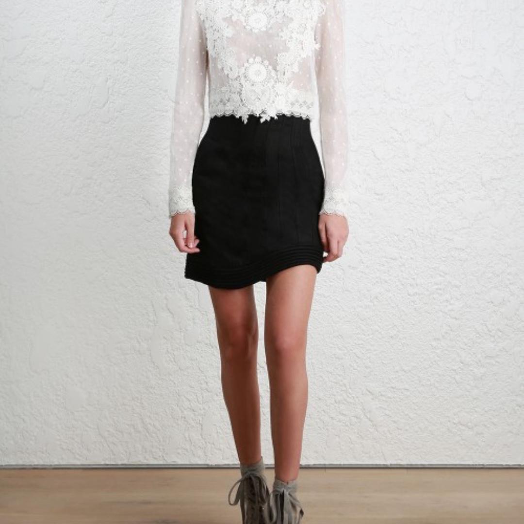 Zimmermann Bowerbird Corset Skirt
