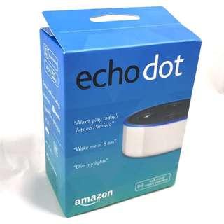 [BNIB] Amazon Echo Dot (2nd Generation) - White or Black both available