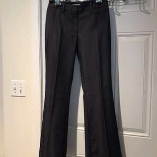 NWOT - H&M Dark Blue Denim Trouser/Dress Pants (size 6)