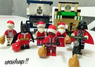 Krismas minifigure version