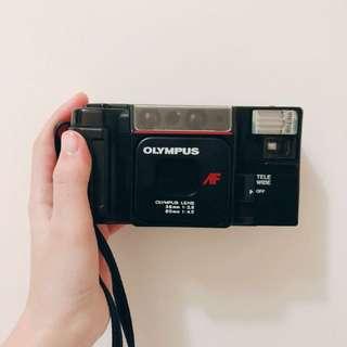 🚚 Olmyus afl-t(故障機)與國際牌CR-P2電池(近全新)