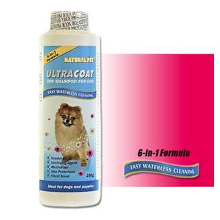 Ultracoat Dry Shampoo For Dogs