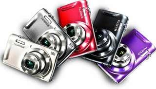 Fujifilm FinePix T550 紅色數位相機 12倍光學