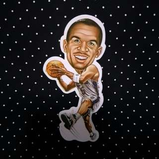 NBA Player Sticker