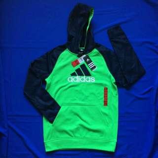 聖誕送禮佳品 Brand new Adidas hoodie tee, fleece inside, unisex