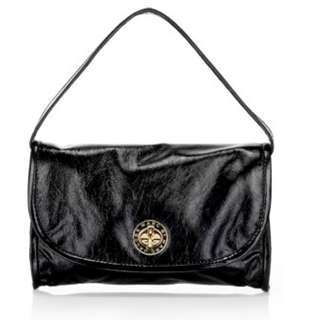 Marc by Marc Jacobs Posh Turnlock patent leather clutch/handbag