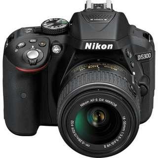Nikon D5300 KIT AFP 18-55mm Kredit tanpa cc prose cepat