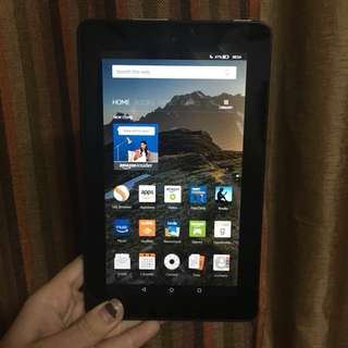 Amazon Kindle Reader Fire tablet