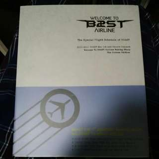 beast airline photo book 99%New with DVD