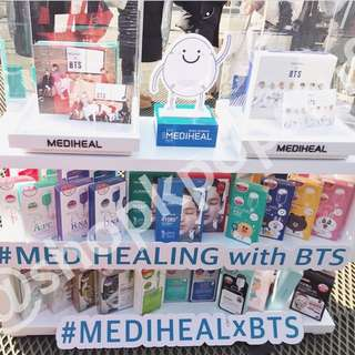 [PRE-ORDER] Mediheal X BTS Special Package with BTS Photo Cards Set + Free Gifts